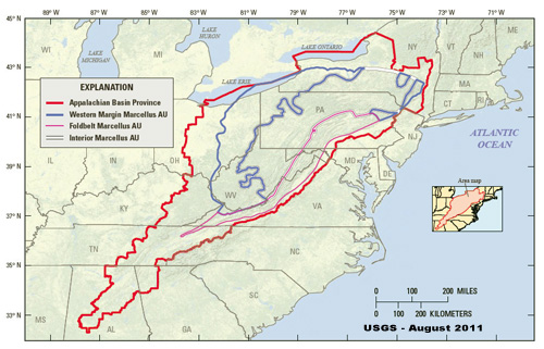 AskCabot Recap How Old Is The Marcellus Shale Well Said - Marcellus shale map